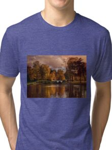 Lazy morning in the park Tri-blend T-Shirt