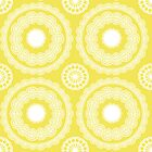 yellow doily by creativemonsoon