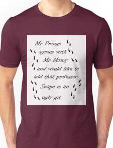 Marauders Map Mr Prongs Unisex T-Shirt