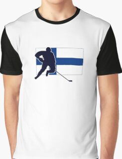 I Love Suomi ~ Finland Hockey Flag T-Paidat Shirt Graphic T-Shirt