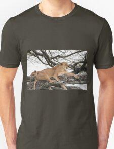 Tree Climbing Lions Unisex T-Shirt