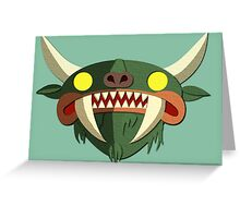 Hodag Greeting Card