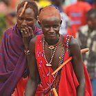 Maasai, Kenia by Konstantin Zhuravlev