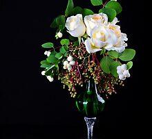 Floral Arrangement  by torishaa