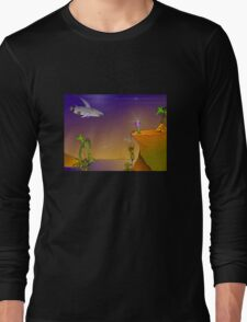 Future Scape Long Sleeve T-Shirt