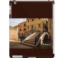 Venice, Italy - Intricate Wrought Iron Bridge iPad Case/Skin
