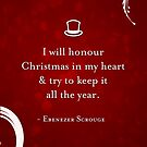 A Christmas Carol Quote by The Eighty-Sixth Floor