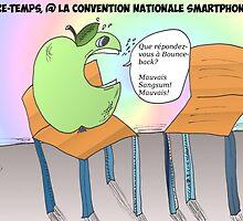 La pomme et la chaise vide by Binary-Options