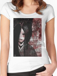 Pain(With Poem) Women's Fitted Scoop T-Shirt