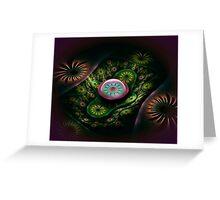 Tube Flowers Greeting Card