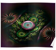 Tube Flowers Poster