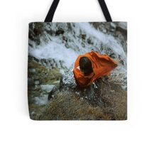 above the waterfall Tote Bag