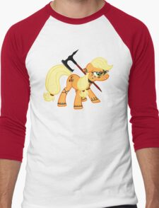 Applejack Dragonborn  Men's Baseball ¾ T-Shirt