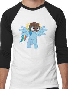 Rainbow Dash is Dragonborn Men's Baseball ¾ T-Shirt