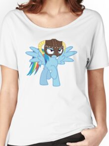 Rainbow Dash is Dragonborn Women's Relaxed Fit T-Shirt