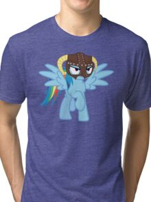 Rainbow Dash is Dragonborn Tri-blend T-Shirt