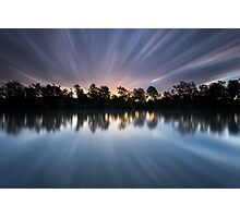 """Warp 10"" ∞ Brisbane River, QLD - Australia Photographic Print"