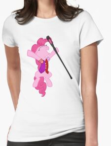 Pinkie Pie Is Dragonborn  Womens Fitted T-Shirt