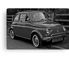 Fiat 500L Canvas Print