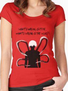 Ken kaneki. Women's Fitted Scoop T-Shirt