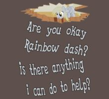 Are you ok Rainbow dash?  Anything I can do to help? by TheJellyBean