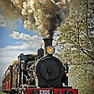 Loco 2705 - Through Train at Bargo River Road by TonyCrehan