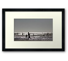 almost animation Framed Print