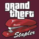 Grand Theft Stapler by robotrobotROBOT