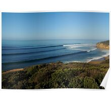 Bells Beach, Victoria, Australia. May 2014. Poster