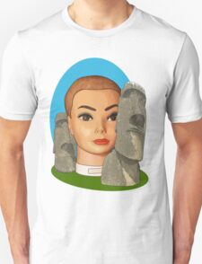 head of easter island T-Shirt