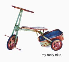 my rusty trike by Mark Piovesan