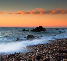 Sunrise at Hallett cove beach by Jessy Willemse