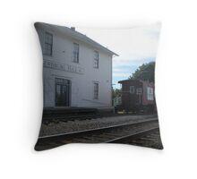 Historic Lewisberg Grange Hall, Lewisburg, Oregon Throw Pillow
