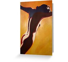 Art Deco Nude Greeting Card