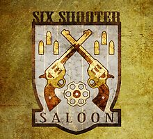 Six Shooter Saloon (iPhone) by Adam Angold
