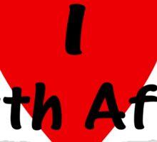 I Love South Africa T-shirt & Sticker Sticker