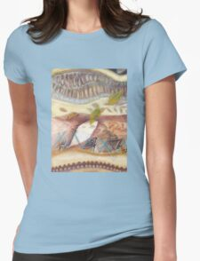 Tropical Fusions (Panel 1 of 4) Womens Fitted T-Shirt