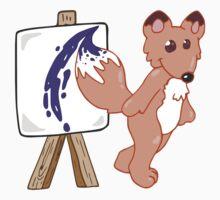 Arty Fox by hybridwing