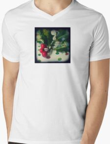 Holly berries Mens V-Neck T-Shirt