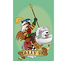 Tally Ho! Photographic Print