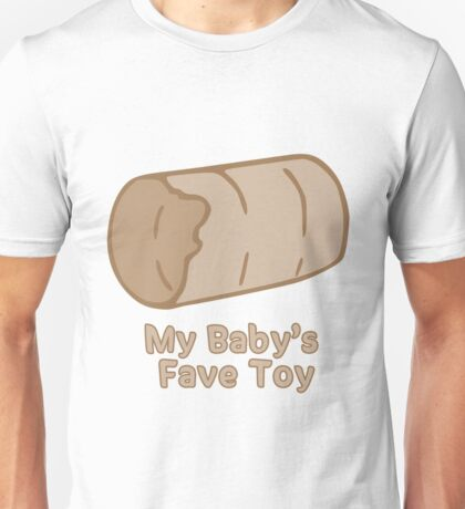 My Baby's Toy Tube Unisex T-Shirt