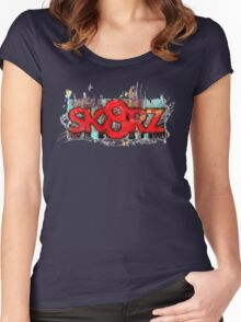 SK8RZ 2 Women's Fitted Scoop T-Shirt