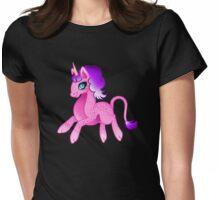 Leopard Unicorn Womens Fitted T-Shirt