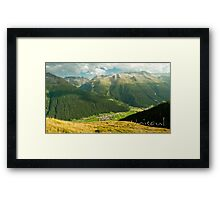 Tiny like ants Framed Print