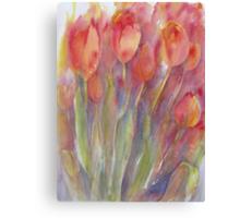 Tulip Impressions Canvas Print