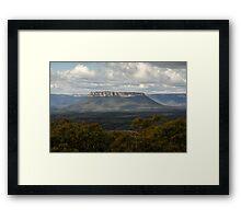 Pantoneys Crown - Gardens of Stone National Park Framed Print