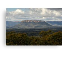 Pantoneys Crown - Gardens of Stone National Park Canvas Print