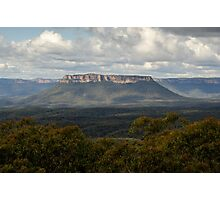 Pantoneys Crown - Gardens of Stone National Park Photographic Print