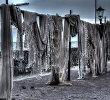 Fishingnets out to dry by Nicole W.