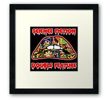 Science Fiction / Double Feature (LIPS! LIPS!! LIPS!!!) Framed Print